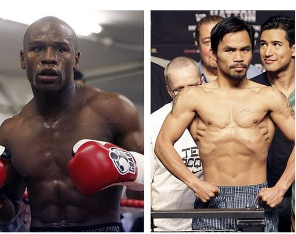 Smarter Business Processes client Top Rank announce Mayweather Vs Pacquiao fight